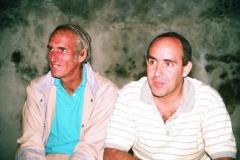 Cousins Rubén and Jorge.